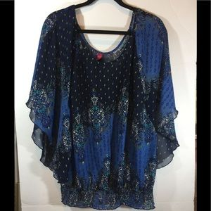 Pure energy plus size blouse Sz 2
